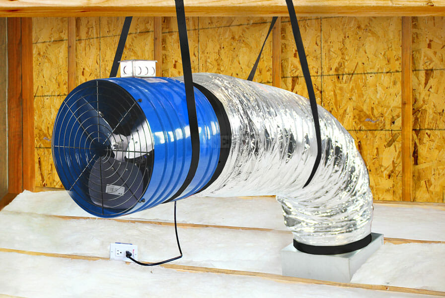 affordable quiet cool fans - low cost whole house fans - whole house fan installation