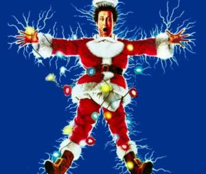 Christmas electrocution