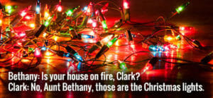 christmas holiday safety tips - Christmas light safety