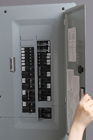 new electrical circuit panel